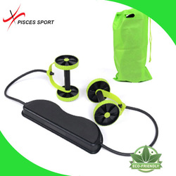 Hot sell Fitness Abdominal Roller Workout Dual Exercise ab roller exercise wheel