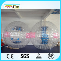 CILE 2015 The Most Popular customized Clear colorful inflatable Zorb ball for sale