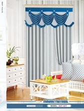 luxury curtain with fancy valance