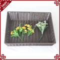Portable 100% handmade weaving basket for fruit vegetable supermarket display rack