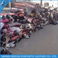 Cheap price good PU/PVC stock leather