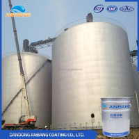 Non-toxic 20kg/barrel 600 degree centigrade resistance water based inorganic zinc-rich non stick coating paint