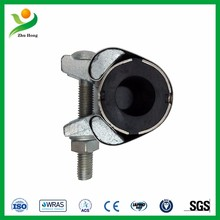 SJW-F cast iron pipe repair sleeve pipe support clamp half round pipe clamp snap repair clamp