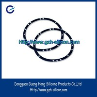 Custom silicone rubber gasket for lighting fitting
