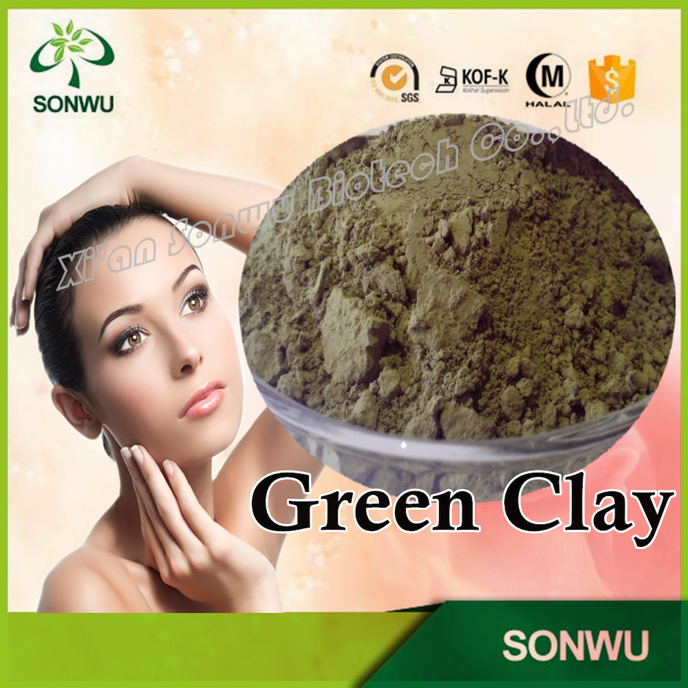 Wholesale french green clay
