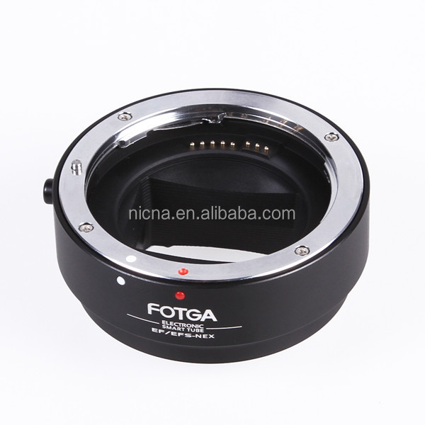 FOTGA Metal Auto Focus AF EOS-NEX adapter for EF EF-S lens to NEX E Mount A7 A7R