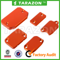FRONT & REAR BRAKE CLUTCH MASTER CYLINDER COVERS for KTM EXC