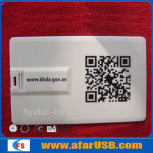 Promotional USB Flash Credit Card Shape Business Card USB