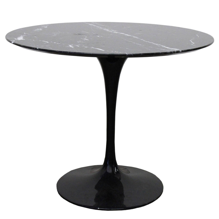 Chinese Oval Round Shape Artificial Marble Tulip Table For Hotel And Restaurant