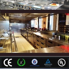 Quality Assured Whole Set Electric/Gas Catering Equipment Used in Kitchen