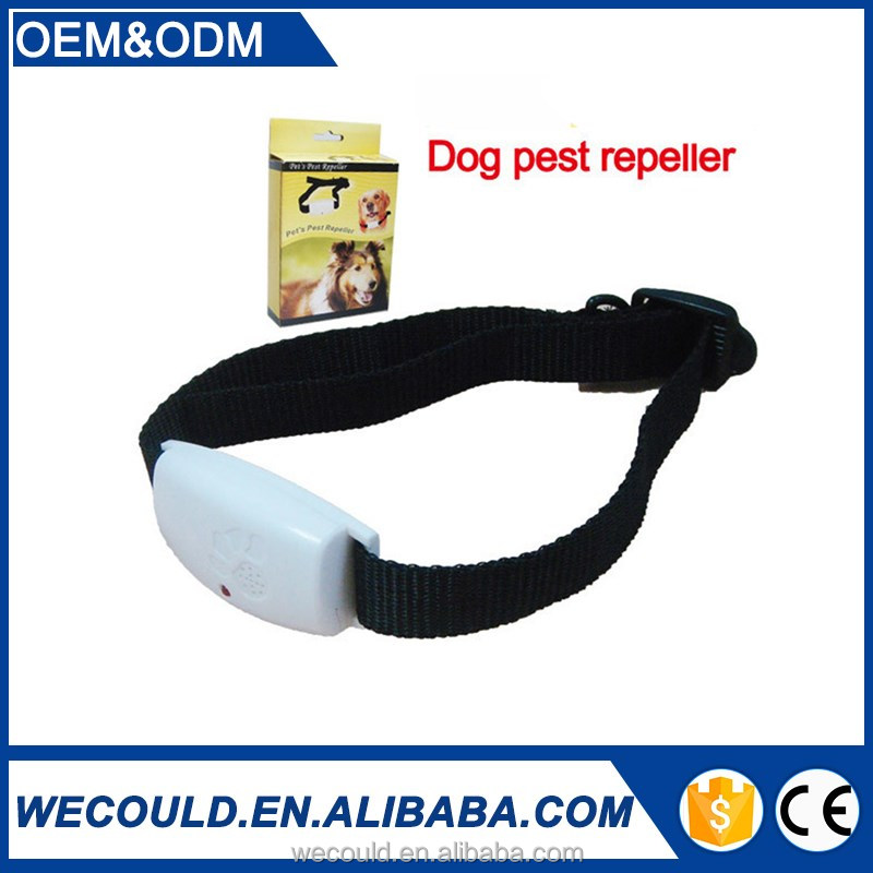 Pet's Pest Repeller Collar Ultrasonic repel fleas,ticks and mosquitoes for dogs or cats