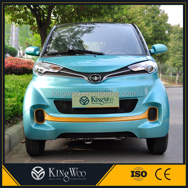 China 2016 smart 2 seat solar electric car