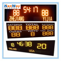 Electronic Football Stadium Scoreboards LED Table Tennis Scoreboard for Tennis