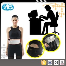 Hot Selling Women Relief Pain Aerogel Heated Waist Girdle