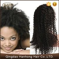 Silk Base Natural Curly Wholesale Cheap Price Human Hair Full Lace Wig