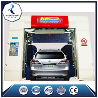 Auto Car Wash Equipment / Automatic Car Wash Machine With Brush