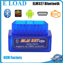 Factory good quality ELM327 bluetooth Mini OBD2 Car Diagnostic Scanner