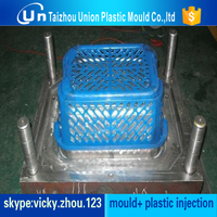 plastic mould with lover price yuyao basket molding