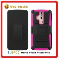 [UPO] Factory Price ! PC+Silicone Robot Combo Kickstand Hybrid Phone Covers Case for ZTE Z958 ZMAX 2