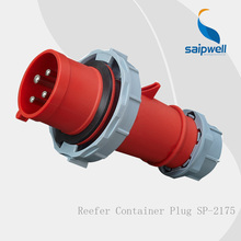 SAIP HOT Sale Dedicated reefer container 4-pin Industrial Power Plug IP67/32A/4P