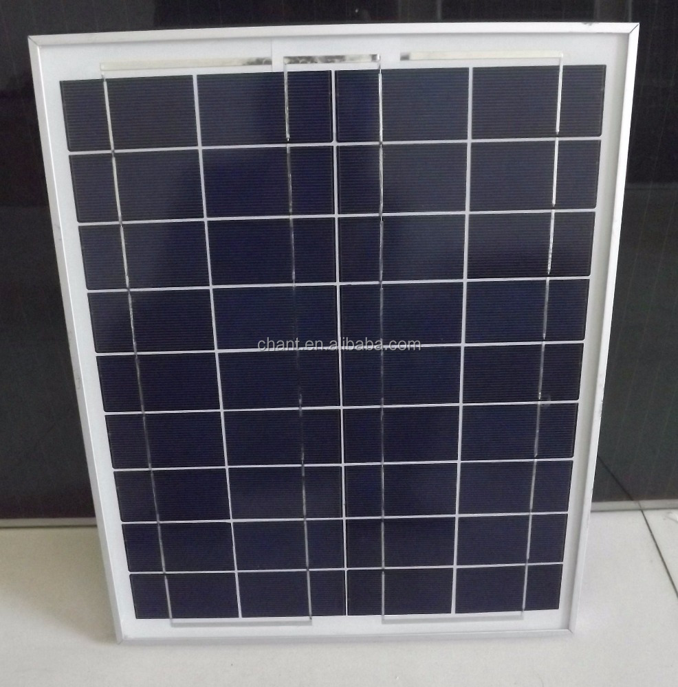 The solar cell price for 50W polycrystalline solar panel manufacture of china