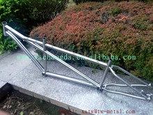 Titanium mountain bike frame with rohloff dropout Titanium MTB bike frame belt drive Titanium tandem bike frame rohloff dropout