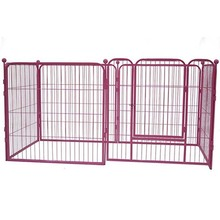 Good quality heavy-duty dog run kennel steel large dog kennels for sale
