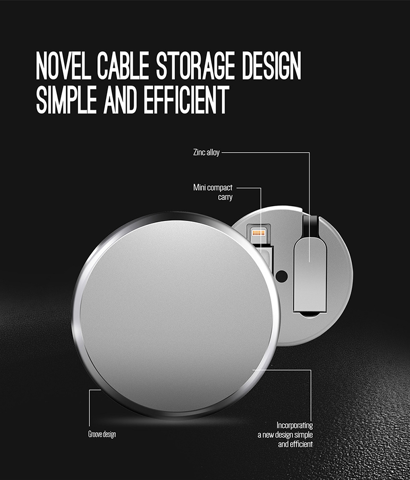 Retractable 2 in 1  multi usb data charging mobile charger cable