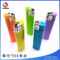 Chinese wholesale bulk cheap electronic cigar lighter gas refill, custom windproof fire lighter for smoking