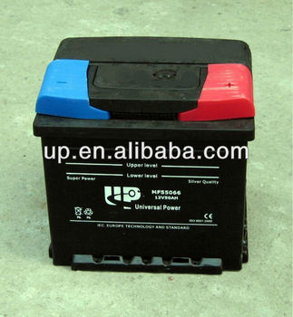 DIN50 12V50AH MF car battery