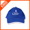 China manufacturer blue embroidered men's washed baseball cap/golf cap/trucker cap