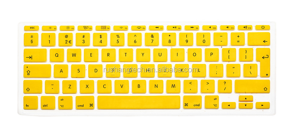 Laptop silicone keyboard cover for macbook air