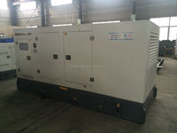 Water cooled engine diesel generator 200kw genset with best price