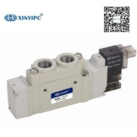 2016 hot sales NINGBO XINYIPC 5V3120 5V5120 5/2 way micro SY SMC type solenoid valve