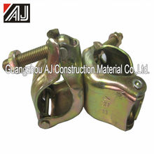 Guangzhou factory fixed coupler scaffolding clamp with EN74 certification