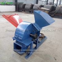Factory Supply high efficiency mobile wood chipper machine weiwei machinery