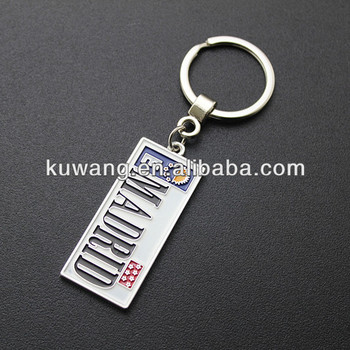 Custom Design Enamel Metal Key Chain