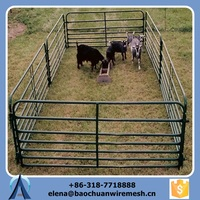 electric fence plastic reel and galvanized steel field horse fencing