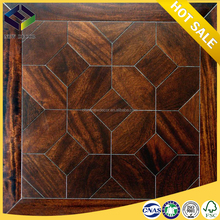 Walnut Color white nature core AC4 wooden laminate flooring 12mm