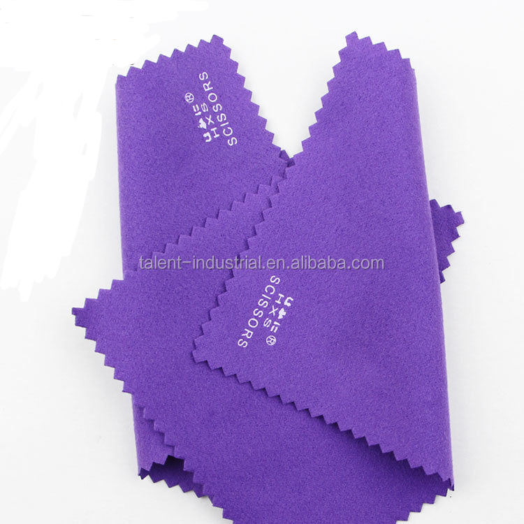 Logo silk screen printed microfiber cleaning cloth