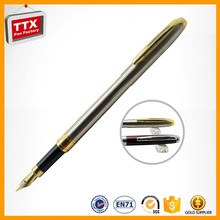 Factory cheap promotional ink pen parts,gift fountain pen