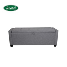 Reatai hot popular new style modern fabric wood ottoman lounge <strong>furniture</strong>