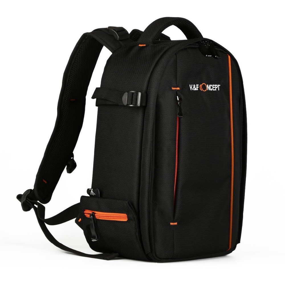Small Size Camera Bag , KF Concept 840D Waterproof Nylon Photography Travel Backpack with Anti-slip Strap for Men/Women
