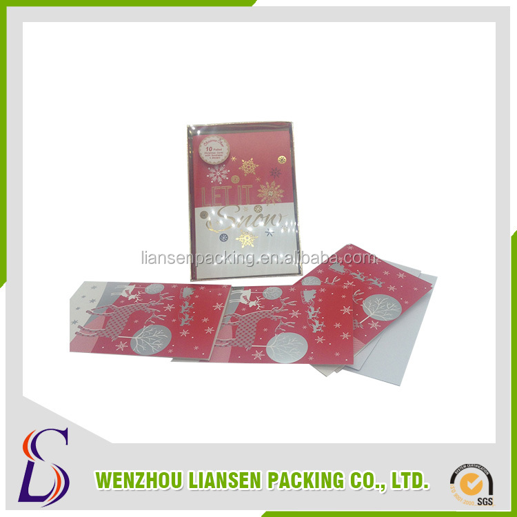 China new innovative product hand painted christmas cards from alibaba china market