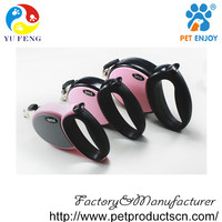 Heavy Duty Retractable Dog Leash By yufeng - Great for Small, Medium & Large Dogs up to 110lbs - Strong Nylon Ribbon