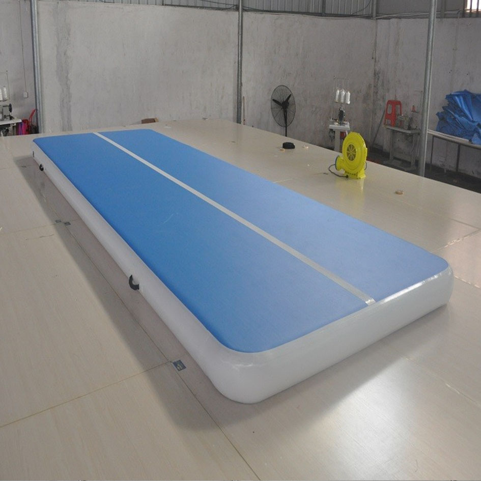 tumble track inflatable air mat for gymnastics inflatable air track