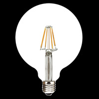 220V 110v E27/E26/B22 G95 G125 blonde led bulb led filament bulb light