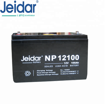 Jeidar NP series 12V 100Ah sealed Lead acid Maintenance free battery