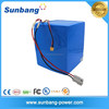 Sunbang rechargeable lipo 60v 20ah battery pack for motorcycles, electric scooter, golf car battery