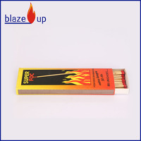 Popular Bbq. Match , head of match red colour wooden safety matches for sale